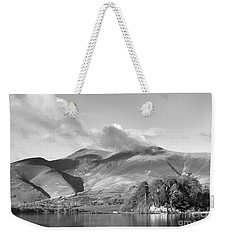 Skiddaw And Friars Crag Mountainscape Weekender Tote Bag by Linsey Williams