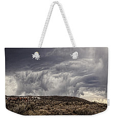 Skirting The Storm Weekender Tote Bag