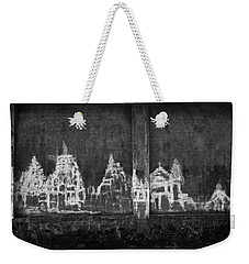 Skc 0003 Temple Complex Weekender Tote Bag by Sunil Kapadia