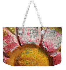 Skc 0008 Scraped Paint Weekender Tote Bag by Sunil Kapadia