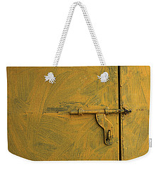 Skc 0047 The Door Latch Weekender Tote Bag by Sunil Kapadia