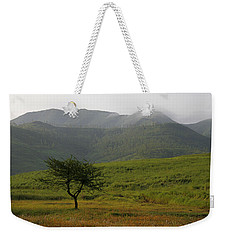 Skc 0053 A Solitary Tree Weekender Tote Bag by Sunil Kapadia