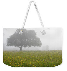 Skc 0056 Tree In Fog Weekender Tote Bag by Sunil Kapadia