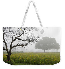 Skc 0058 Contrasty Trees Weekender Tote Bag by Sunil Kapadia