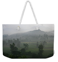 Skc 0079 A Winter Morning Weekender Tote Bag by Sunil Kapadia