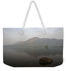 Weekender Tote Bag featuring the photograph Skc 0084 The Rock Show by Sunil Kapadia