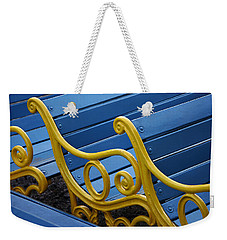 Skc 0246 The Garden Benches Weekender Tote Bag by Sunil Kapadia