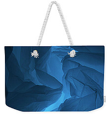 Skc 0247 A Mystery In Blue Weekender Tote Bag by Sunil Kapadia