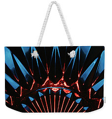 Skc 0269 Cut Glass Weekender Tote Bag by Sunil Kapadia