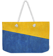 Skc 0303 Co-existance Weekender Tote Bag by Sunil Kapadia