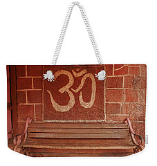 Skc 0316 Welcome The Gods Weekender Tote Bag by Sunil Kapadia