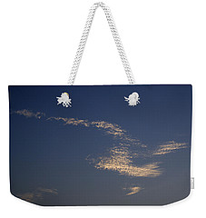 Skc 0353 Cloud In Flight Weekender Tote Bag by Sunil Kapadia