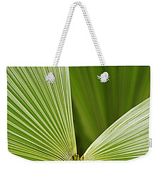 Skc 0691 The Paths Of Palm Meeting At A Point Weekender Tote Bag by Sunil Kapadia