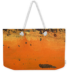 Skc 1505 Peeled Paint Weekender Tote Bag by Sunil Kapadia