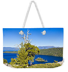 Sky Blue Water - Emerald Bay - Lake Tahoe Weekender Tote Bag