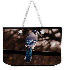 Sky Blue Wings Weekender Tote Bag