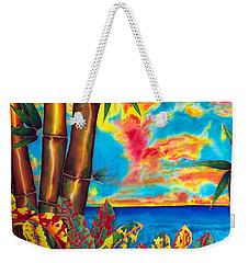 Sky Fire Weekender Tote Bag
