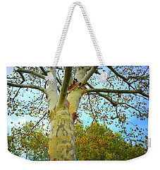 Sky High Weekender Tote Bag by Kathy Barney