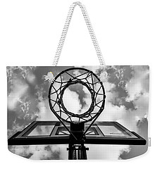 Sky Hoop Basketball Time Weekender Tote Bag