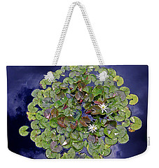 Weekender Tote Bag featuring the photograph Sky Lilies by Zafer Gurel