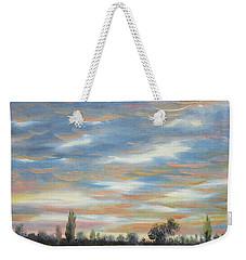 Sky Weekender Tote Bag by Vesna Martinjak