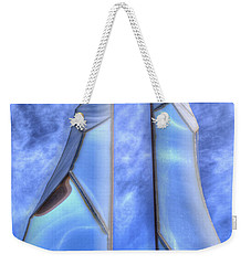 Weekender Tote Bag featuring the photograph Skycicle by Paul Wear