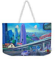 Skyfall Double Vision Weekender Tote Bag by Art James West