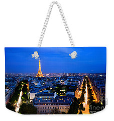Skyline Of Paris Weekender Tote Bag