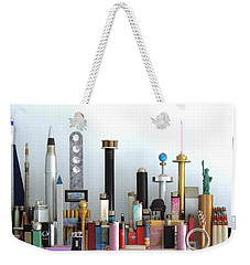 Skyline Sculpture Weekender Tote Bag