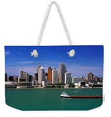 Skylines At The Waterfront, River Weekender Tote Bag