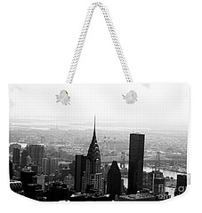 Skyscraper Weekender Tote Bag by Linda Woods