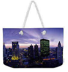 Skyscrapers, Chicago, Illinois, Usa Weekender Tote Bag by Panoramic Images