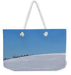 Dexter Drumlin Hill Sledding Weekender Tote Bag