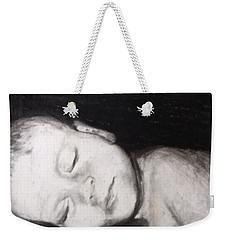 Sleeping Weekender Tote Bag