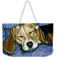 Sleeping Beagle Weekender Tote Bag