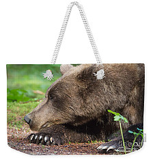 Sleeping Bear Weekender Tote Bag by Chris Scroggins