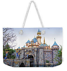 Sleeping Beauty Castle Disneyland Side View Weekender Tote Bag