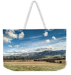 Weekender Tote Bag featuring the photograph Sleeping Giants In Cades Cove by Debbie Green