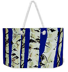 Sleeping Giants Weekender Tote Bag by Jackie Carpenter