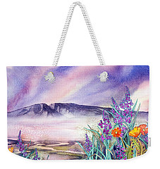 Sleeping Lady Sunset Weekender Tote Bag