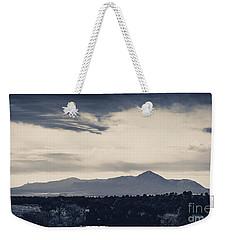 Sleeping Ute Mountain Weekender Tote Bag