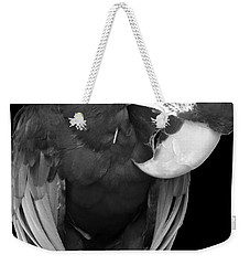 Sleepy Bird  There Is A Nap For That B And W Weekender Tote Bag