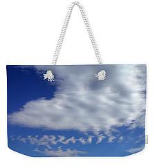Sleepy Clouds Weekender Tote Bag