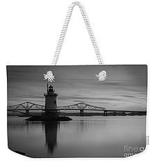 Sleepy Hollow Lighthouse Bw Weekender Tote Bag