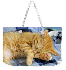 Sleepy Time Weekender Tote Bag by Kenny Francis