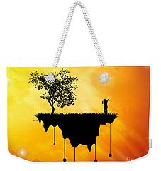 Weekender Tote Bag featuring the digital art Slice Of Earth by Phil Perkins