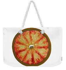 Slice Of Grapefruit, Backlit Weekender Tote Bag