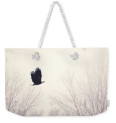 Slicing Through The Fog Weekender Tote Bag by Melanie Lankford Photography
