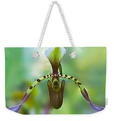 Slipper Orchid Of Selby Gardens Weekender Tote Bag
