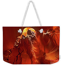 Slot Canyon Formations In Upper Antelope Canyon Arizona Weekender Tote Bag